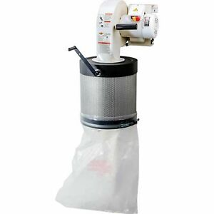Shop Fox Wall mount Dust Collector With Canister Filter Model W1844