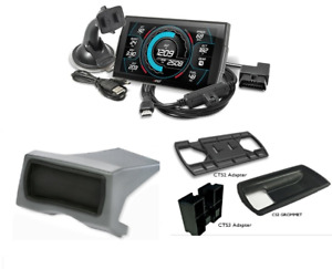 Edge Insight Cts3 Touch Screen Monitor Dash Pod 08 12 Ford 6 4l 6 7l Powerstroke