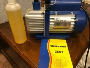 Zeny 1 Stage Vacuum Pump Model Vp125