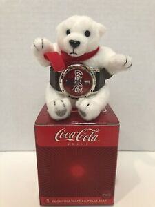 NIB 2002 Coca-Cola Polar Bear & Coca Cola Watch!