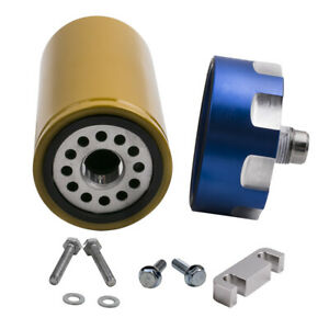 Fuel Filter Adapter Kit Fit For Gm Duramax Gmc Sierra 6 6l Brand New 2001 2016