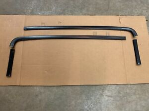1968 Chevy Impala Custom Coupe Caprice 2dr Roof Line Garnish Moulding Trim 68
