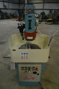 Delta Lc 400 Rotary Table Surface Grinder With Vertical Spindle
