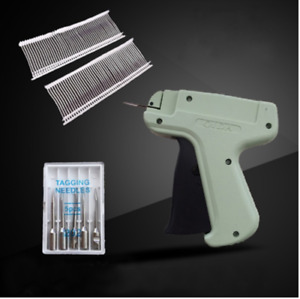 Clothing Garment Brand Price Tag Gun 1000 Barbs Label Needle Machine 5 Needle Us
