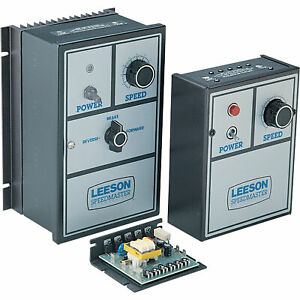 Leeson Speedmaster 174311 Dc Scr Control Open Chassis W speed Pot Nonreversing