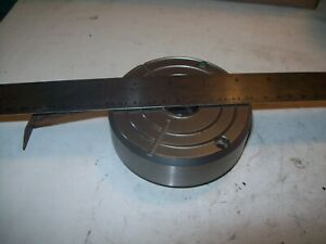 Optical Polishing Chuck Puck Plate 100mm Dia For 25mm Female Spindle P5348