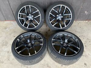2015 Nissan 370z Nismo Wheels Rays Forged 19x9 5 19x10 5 Oem Michelin Tires