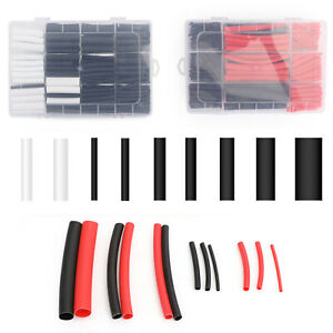 570pcs 3 1 Waterproof Dual Wall Adhesive Heat Shrink Wire Heatshrink Tubing Kits