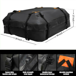 Universal 15 Cubic Car Cargo Roof Top Carrier Bag Storage Luggage Rooftop