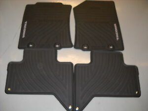 2012 2014 Toyota Tacoma Double Cab All Weather Floor Mats Oem Pt908 35122 20