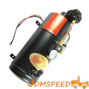 Air Compressor With 3 Liter Tank For Air Horn Train Truck Rv Pickup 150 Psi