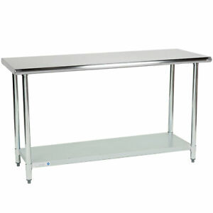 Nsf Counter Commercial Kitchen 24 X 60 Stainless Steel Work Food Prep Table