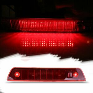 For 2005 2010 Jeep Grand Cherokee Red Lens Third 3rd Brake Led Tail Light Lamp