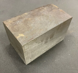 4 1 4 Thickness 4130 Normalized Steel Flat Bar 4 25 X 4 X 7 0625 Length