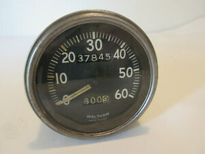 Ford Gpw Jeep Willys Mb Military Wwii Speedo Speedometer Waltham
