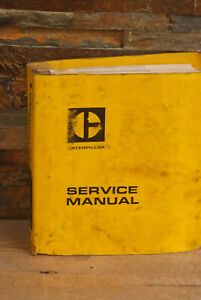 Caterpillar 772 Tractor 773 Truck Service Manual Cat 80s 63g
