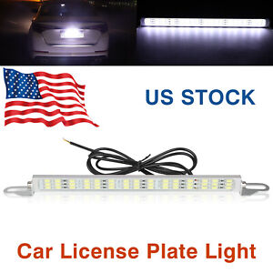 Universal License Plate Mount High Power Led 6000k Light For Car Suv Truck Rv