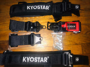 Kyostar 2 5 Point Latch And Link Safety Harness Soft Heavy Duty Shoulder Pads