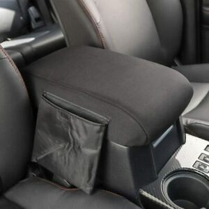 Car Armrest Pad Memory Cushion Center Console Cover For Toyota 4runner 2017 19
