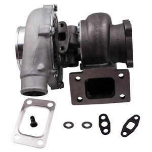 Gt3037 T3 Flange 500hp Universal Turbo Charger Oil Drain Return Feed Line Kit