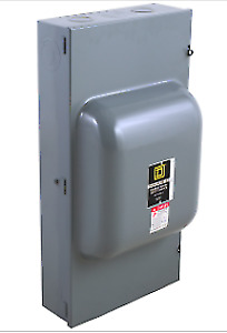 Square D 82354 Switch Nonfusible Double Throw 240v 200a 3p Nema 1 New