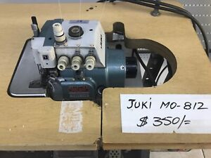 Juki Mo 812 Industrial Sewing Machine Used In Working Condition