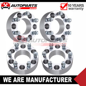 4 2 50mm Wheel Spacers 6x135 14x2 Studs For 2014 Ford F 150 Lincoln Mark Lt