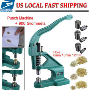 New Hand Press Punch Machine For Press Studs eyelets grommet rivets snap Popper