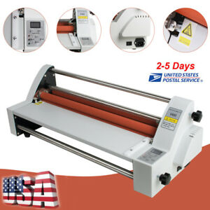 Electric 450mm Four Roller Eight Bearings Hot And Cold Roll Laminating Useful