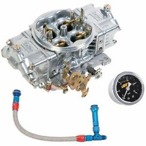 Holley 0 82751k Street Hp Carburetor Kit Includes 750 Cfm Carburetor 6an Fuel