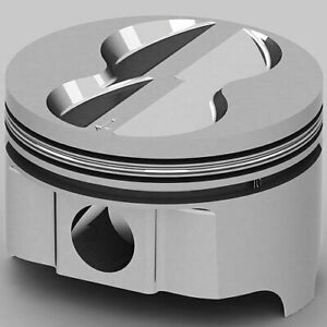 United Engine Machine Ic9924 030 Ford 289 302 393ci Fhr Forged Pistons Flat Top