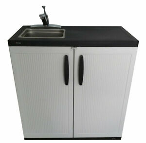 Portable Sink Hand Wash Station Hot Cold Water