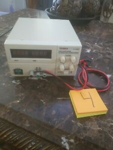 Tenma 72 7295 Bench Switching Mode Dc Regulated Power Supply