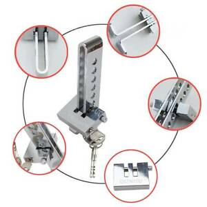 Universal Car Security Stainless Steel Brake Pedal Lock Anti theft Clutch Lock