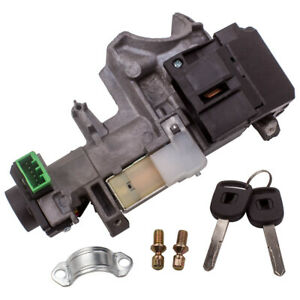 Ignition Switch Assembly Cylinder Lock Auto Trans For Honda Accord Civic 2 Keys