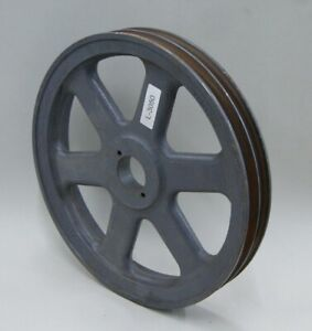 Browning 2bk120h Cast Iron Double Groove Pulley Sheave 11 75 375 L 3050