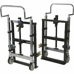 Strongway Hydraulic Furniture Mover Set 3960 lb Capacity 10in Lift