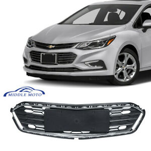 Front Bumper Lower Grill Grille Chrome Trim For Chevrolet Cruze 2016 2017 2018