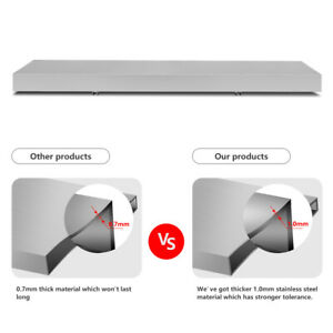 4 Ft Concession Shelf Foldable Food Truck Window Stand Accessories Business New