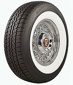 Coker Tire 579028 Bf Goodrich Silvertown Whitewall Radial Tire