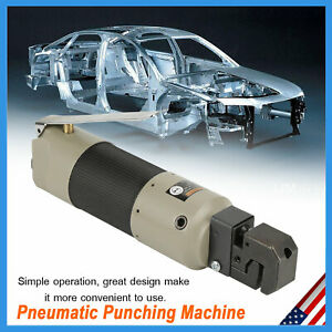 New Pneumatic Sheet Metal Flange Punching Tool 3 16 Hole Puncher With Connector