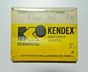 10 Pieces Kennametal Rng 42 K68 Carbide Inserts F902