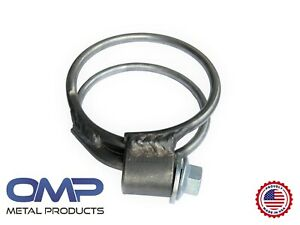 Stainless Steel Ssc2780 2 5 Sureseal Heavy Duty Double Band Exhaust Clamp 30802