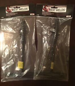 2 Brand New Best Welds Handle Chipping Hammers For Welding Slag Remover 000h