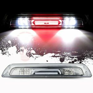 For 07 19 Tundra 3d Led Third 3rd Tail Brake Light W Cargo Lamp Bar Clear Lens