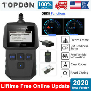 Automotive Obd2 Can Scanner Code Reader Car Diagnostic Tool For Ram Gm Mini Ford