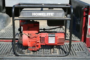 Homelite Generator 4400 Watt B s 8 Hp Gas 120 240v Electric Delivery Available