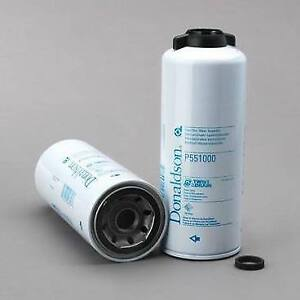 P551000 Fuel Filter Water Separator Spin 2 Pack