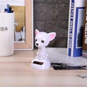 Magic Solar Powered Dancing Dogs Swinging Bobble Toy Gift Car Decoration Novelty