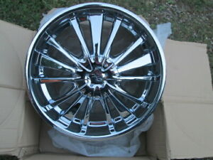 1 Cx 18 Chrome 5lug Vtg Rim Selling Only 1 Rim 5x110 5x115 45 Style 816